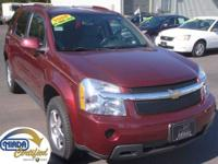 "This 08 Equinox ""LT"" AWD is the perfect small SUV for"