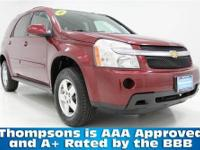 ALL WHEEL DRIVE!.........2008 Chevrolet Equinox LT with