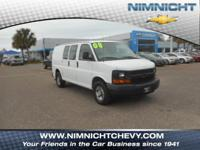 CARFAX 1-Owner, Clean. Express Cargo Van trim.