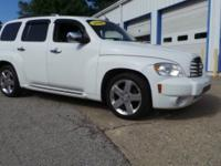 Clean CARFAX. Summit White 2008 Chevrolet HHR LT FWD