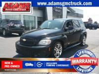 CARFAX One-Owner. Black 2008 Chevrolet HHR SS FWD