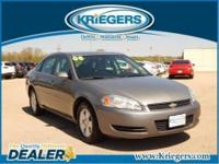 This smooth-riding 2008 Chevrolet Impala LT provides