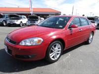 The Impala LTZ package in the 2008 model offers leather