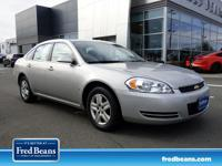Land a deal on this 2008 Chevrolet Impala LS while we
