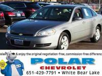 This wonderful 2008 Chevrolet Impala is the low-mileage