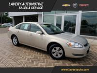 2008 Chevrolet Impala LT in Gold Mist Metallic,