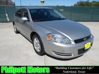 Options Included: N/A2008 Chevy Impala LT, silver with