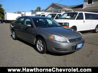 2008 Chevrolet Impala LT Sedan presented in Dark Silver