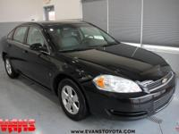 BLACK 2008 Chevrolet Impala LT FWD 4-Speed Automatic