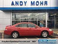 Red Jewel Tintcoat 2008 Chevrolet Impala LT Alloy