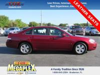 This 2008 Chevrolet Impala LT in Red Jewel Tintcoat is