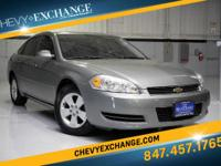 Options:  2008 Chevrolet Impala Lt W/3.5L|Dark Silver