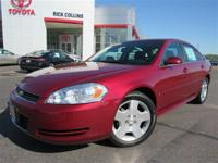 50th Anniversary Edition! This 2008 Chevy Impala comes
