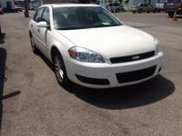 2008 Chevrolet Impala LTZ In White. Wow! What a