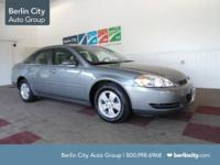 Berlin City Certified 2008 CHEVY IMPALA LT sedan with