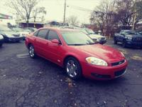 Options:  2008 Chevrolet Impala Ss|Ss 4Dr