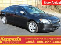 This 2008 Chevrolet Malibu LT in Silverstone Metallic