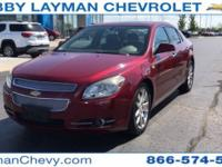 New Price! Malibu LTZ, 4D Sedan, 3.6L V6 SFI DOHC,