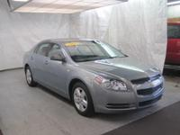 This impressive example of a 2008 Chevrolet Malibu LS