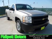 Options Included: N/A2008 Chevy Silverado, silver with