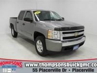 Powerful and comfortable, this 2008 Chevrolet Silverado