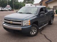 Clean 2008 Chevy 1500 Ext Cab with matching tonneau