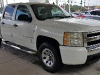 Summit White 2008 Chevrolet Silverado 1500 LS RWD