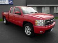 SILVERADO EXTENDED CAB LTZ: 4WD...LEATHER