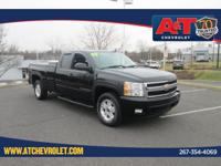 Black 2008 Chevrolet Silverado 1500 LTZ 4WD 4-Speed