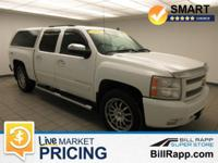 Summit White 2008 Chevrolet Silverado 1500 LTZ 4WD