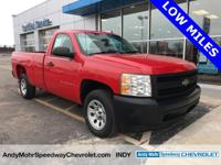 New Price! Silverado 1500 Work Truck, Vortec 4.3L V6