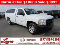 1-Owner New Vehicle Trade! Work Truck 4.3 V6 RWD.
