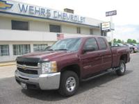 2500 LT EXT 4WD WELL MAINTAINED FLEET TRUCK WEHRS CHEVY