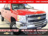 LT - 1 OWNER - CLEAN CARFAX - Z71 - ALLOY WHEELS -