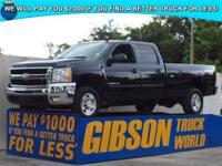 WWW.GIBSONTRUCKWORLD.COM 2008 Chevy Silverado 3500 LTZ