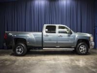 4x4 Duramax Turbo Diesel Dually Truck with Overhead DVD