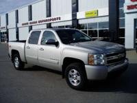 2008 Chevrolet SIlverado Crew Cab 4x4 LT All Power.