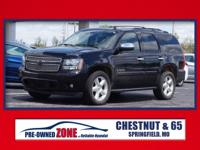LEATHER INTERIOR and ALLOY WHEELS. Tahoe LTZ, 4D Sport