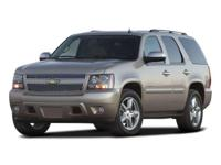 LTZ trim. Heated Leather Seats, Third Row Seat, Heated