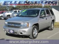 **CLEAN CARFAX** RELIABLE 4WD** This Trailblazer is