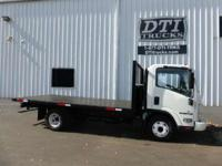 2 Year Extended Warranty Available. Flatbed Trucks