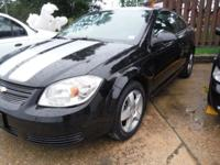 2008 CHEVY COBALT LT REVOLUTIONARY EDITION. BLACK