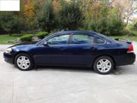 2008 Chevy Impala LT. 60825 miles.Loaded. Dark Blue