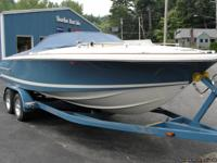 "Length 20'2"", Beam 8'3"", Dry Weight 4109 lbs, Fuel tank"