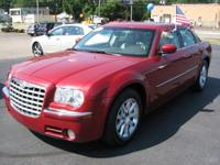 This rear-drive 2008 Chrysler 300 sedan is offered in