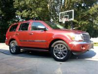 2008 Chrysler Aspen Limited edition SUV. 5.7 liter