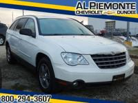 This Stone White Clearcoat 2008 Chrysler Pacifica is a