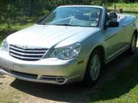 2008 Chrysler Sebring Convertible completely automatic
