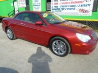 Body Style: Convertible Engine: Exterior Color: Red