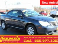Clean CARFAX. This 2008 Chrysler Sebring LX in Deep